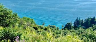 Building land of 815 m2 with a sea view and villa construction project - Dubrovnik surrounding