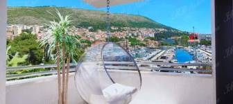 Luxury penthouse of 101 m2 with a sea view on exclusive location - Dubrovnik, Lapad bay