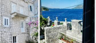 Two storey apartment first row to the sea - Dubrovnik area