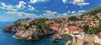 Building plot 4166 m2 with sea view - Dubrovnik