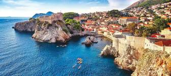 Building plot of app. 1200 m2 with sea and Old Town view - Dubrovnik Ploče