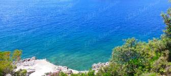 Building plot 1100 m2 by the sea for an exclusive villa - Dubrovnik