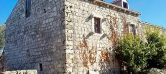 Ruined stone house overlooking the sea in a quiet environment - Dubrovnik area