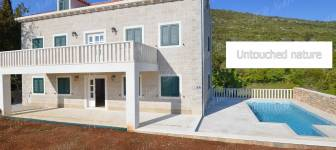 The newly built house with swimming pool 200 m2 - Dubrovnik area