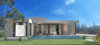 Houses of 96 m2 - 136 m2 under the construction - Dubrovnik surrounding