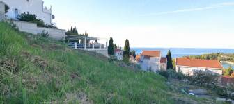 Building land of 770 m2 with a sea view - Dubrovnik surrounding