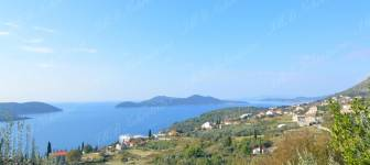 Building land of 1800 m2 with a sea view - Dubrovnik surrounding